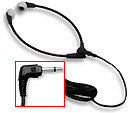 Wishbone or Y-shaped headset with ear cushions and 3.5mm right-angle plug (Compatible with: Lanier, Sony, Norcom, Panasonic, Olympus, Philips, RTAS, Sanyo)